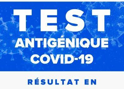 Tests antigéniques en pharmacie